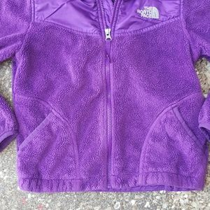 9b1a5f60d The North Face Purple Oso Jacket Fleece Girls 7/8